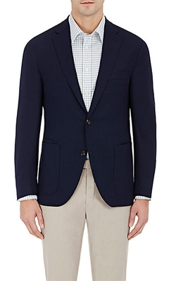 Luciano Barbera - Piqué Two-Button Sportcoat