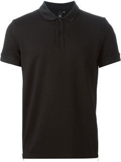 MCQ by Alexander McQueen  - Side Zip Polo Shirt