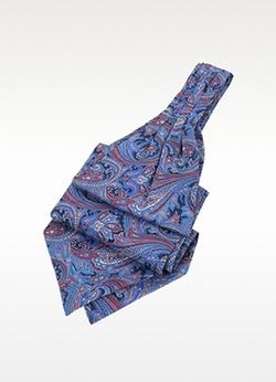 Forzieri  - Ornamental Print Silk Ascot