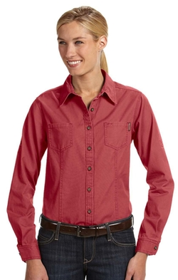 Dri Duck - Long-Sleeve Mortar Workshirt