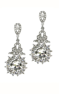 ILY - Crystal Lace Drop Earring