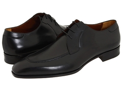 A. Testoni - Moc Toe Lace Up Oxford Shoes