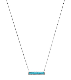 Michael Kors   - Pavé Bar Pendant Necklace