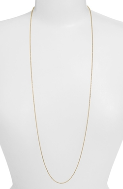 Argento Vivo - Long Ball Chain Necklace