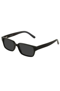 Collins Bridge  - Chase Black Square Sunglasses