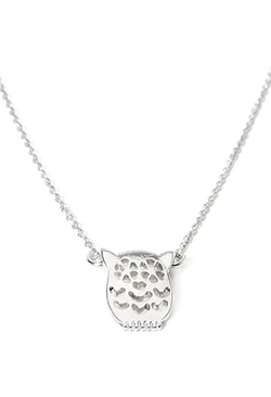 Forever 21 - Owl Cutout Charm Necklace