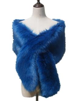 Chericom Store-Fur Shawl - Fox Fur Shawl Scarf