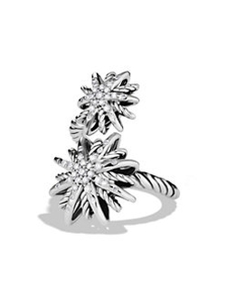 David Yurman - Starburst Open Ring with Diamonds