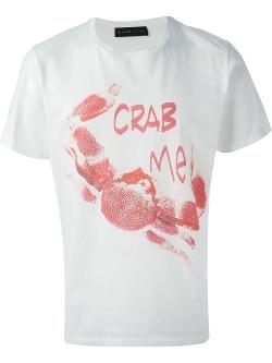 Etro  - Crab Print T-Shirt