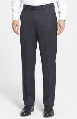 Berle - Front Wool Gabardine Trousers