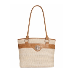 Giani Bernini  - Filigree Straw Tote Bag