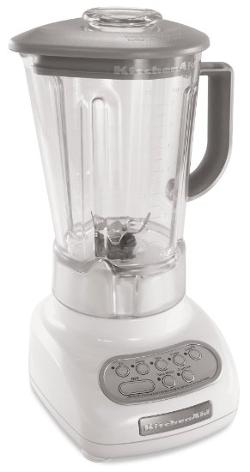 KitchenAid  - 5-Speed Blenders with Polycarbonate Jars, White