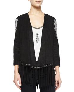 Haute Hippie  - Embellished Jacket