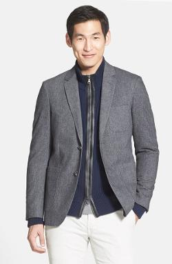 Vince  - Cotton Twill Blazer