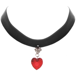 GirlPROPS - Wide Velvet Ribbon Choker