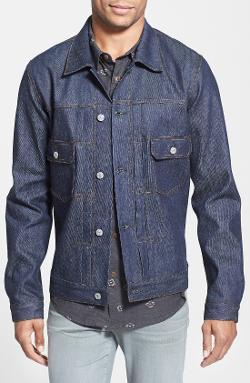 Citizens of Humanity  - Scout Raw Selvedge Denim Jacket