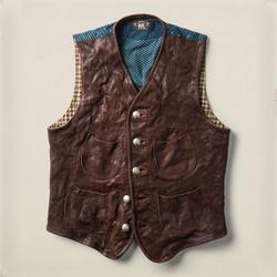 Ralph Lauren - Leather Mccabe Vest