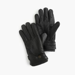 Hestra - Leather Primaloft Ribbed Gloves
