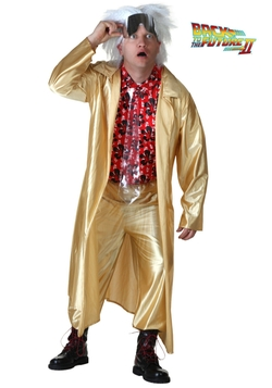 Fun Costumes - Back to the Future 2015 Doc Brown Costume
