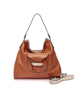 Francesco Biasia - Kensington Large Leather Shoulder Bag