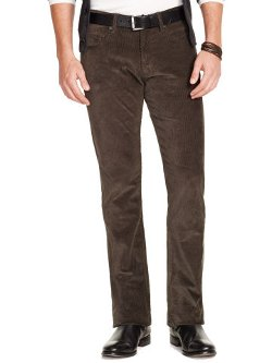 Ralph Lauren - Straight-Fit Corduroy Pants