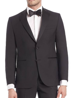 Saks Fifth Avenue Collection  - Modern Tuxedo Jacket