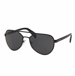 Prada  - Metal Irregular Aviator Sunglasses