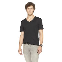Mossimo Supply Co. - Slim Fit Deep V-Neck T-Shirt