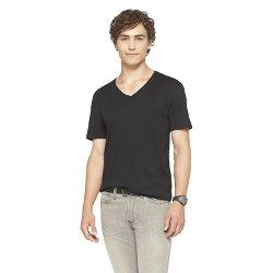 Mossimo Supply Co. - Slim Fit Deep V-Neck T-Shirt