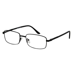 EyeBuyExpress - Rectangle Black Reading Glasses