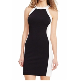 Lauren Ralph Lauren - Colorblock Jersey Sheath Dress