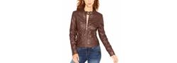 Joujou - Faux-Leather Moto Jacket