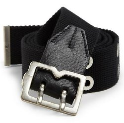 McQ Alexander McQueen  - Canvas Metal-Tip Belt