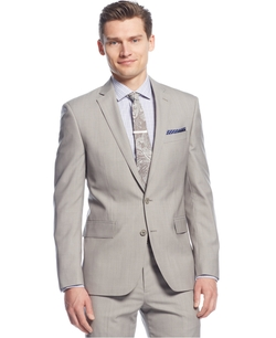 Ryan Seacrest Distinction - Tan Solid Jacket