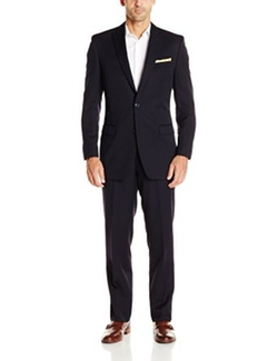 Calvin Klein - Peak Lapel Slim-Fit Suit