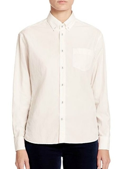 Tomas Maier  - Poplin Button-Down Shirt