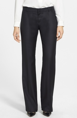 Kirstie Kelly - Straight Leg Stretch Wool Trousers