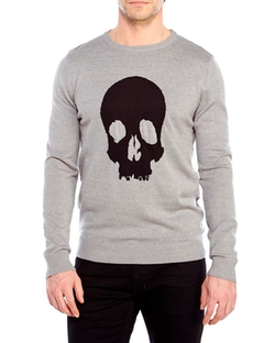 Brave Soul - Skull Knit Sweater