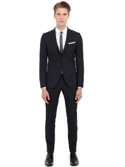 Daniele Alessandrini Grey  - Stretch Wool Suit