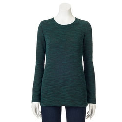 Croft & Barrow - Marled Crewneck Sweater