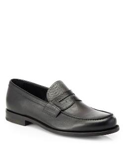 Prada  - Saffiano Bi-Colored Loafers