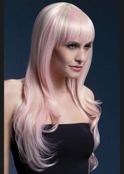 Struts Fancy Dress - Long Blonde Candy Fever Sienna Wig