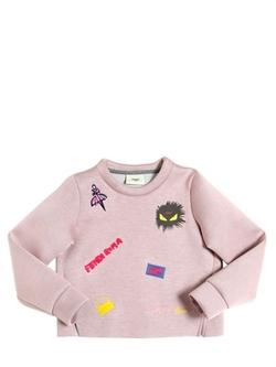 Fendi - Cropped Neoprene Sweatshirt