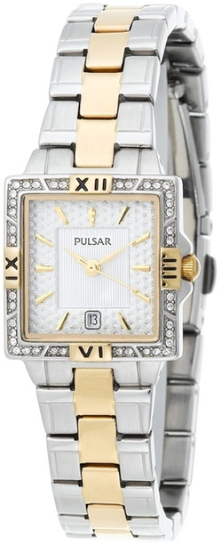 Pulsar - Crystal Two-Tone Watch