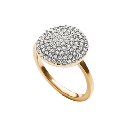 Michael Kors - Crystal Pave Disc Ring