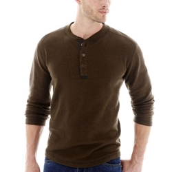 Stanley - Long-Sleeve Thermal Henley Shirt