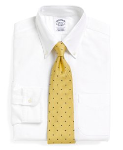 Brooks Brothers - Regent Fit Button-Down Collar Dress Shirt