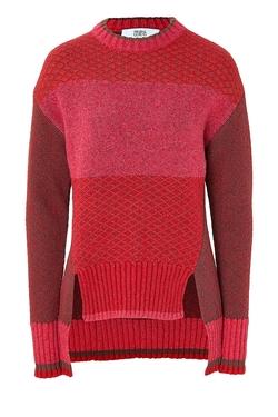 Prabal Gurung - Wool-Cotton Colorblock Pullover