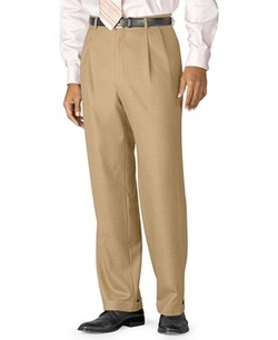 Ralph Lauren - Double-Reverse Pleated Dress Pants