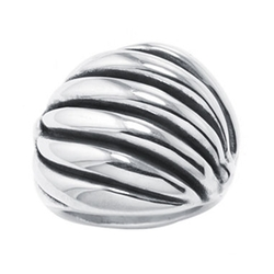 JCPenney - Sterling Silver Textured Wave Ring
